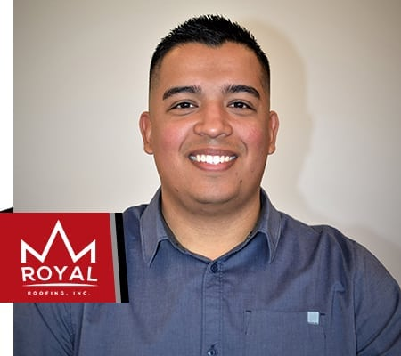 Hector Torres, Royal Roofing Project Manager