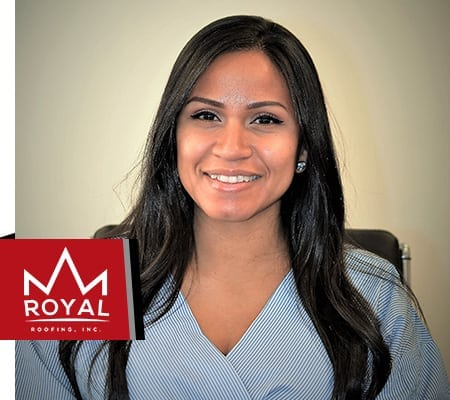 Sara Sanchez, Royal Roofing Project Manager