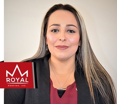 Savannah Galvez, Royal Roofing Administrative Assistant